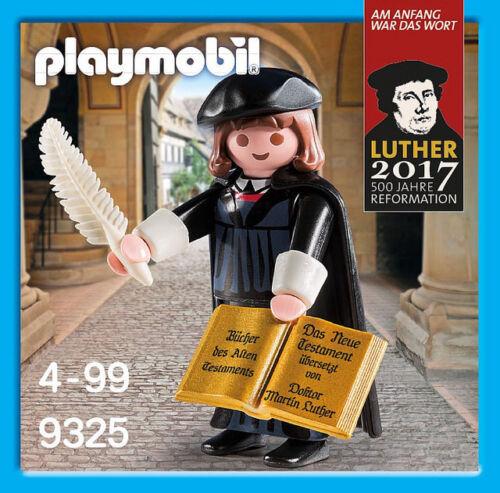 YRTS 9325 Playmobil Martin Lutero Ed Limitada Martin Luther ¡Nuevo en Caja!