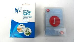 LIFE SPA WATER PROOF PLASTIC PLAYING CARDS 100% WATER PROOF