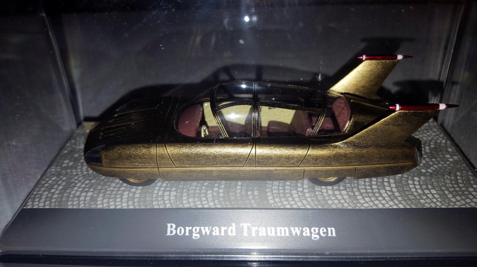 Edición Premium Classixxs únicos  18046 1 43 1955 Borgward TRAUMWAGEN oro 750