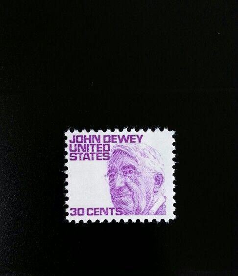 1968 30c John Dewey, Psychologist Scott 1291 Mint F/VF