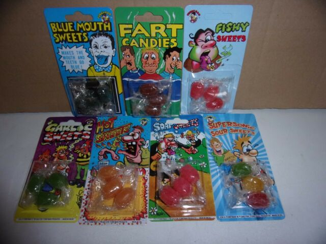 FISHY SWEETS Aprils Fools Day Prank sweets-Joke sweets assortment