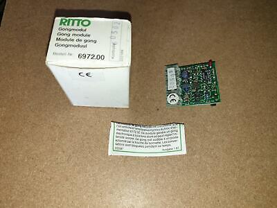 Ritto 6540//01 3-Klang-Gong Platine Rufsignal Elegant 1654001 geb.
