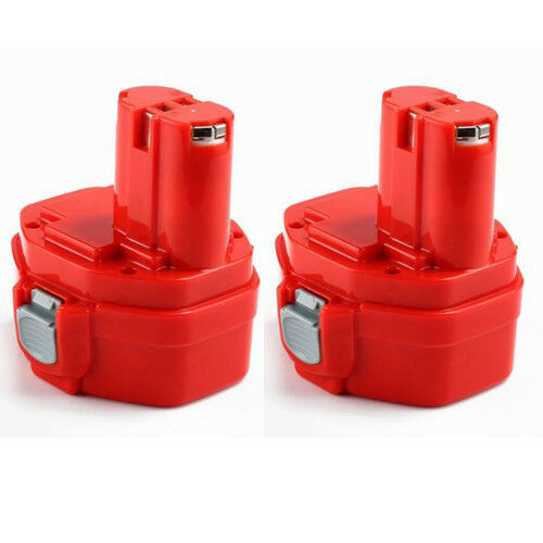 2x 14.4V 3000mAh Ni-MH 193158-3 Battery for Makita Drill PA14 JR140D 1420