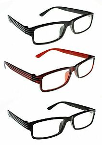Super Cheap Unisex Trendy Reading Glasses in Matt Black Shiny black & Brown TN46