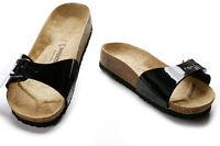 Birkenstock Classic/unisex Madrid Clog/casual/beach Sandal Black (391)