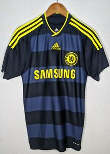 ADIDAS Chelsea FC Soccer Futbol Samsung Jersey Mens Small S **CUT ...