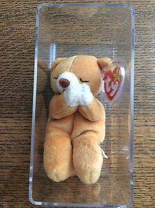 415f54e41a2 Image is loading TY-BEANIE-BABIES-HOPE-PRAYING-BEAR-BORN-MARCH-