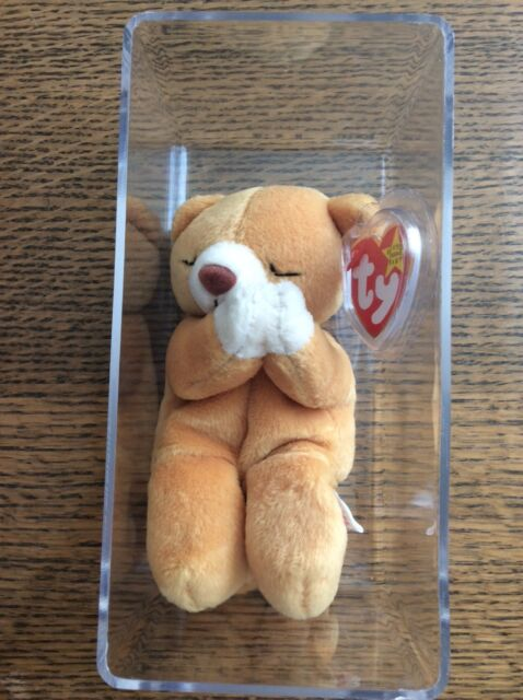 997822aaec8 Ty Beanie Baby Hope Praying Bear Born March 23 1998 Tag Errors for ...