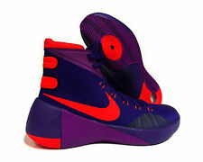 NIKE HYPERDUNK 2015 CRT Sneakers Mens Sz 11 Purple Bright Crimson 749561-565 NEW