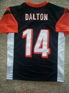 2019-2020) Bengals ANDY DALTON nfl ($60) Jersey YOUTH KIDS BOYS (m ...
