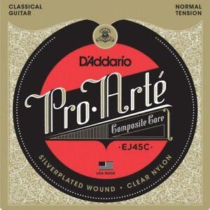 D-039-Addario-EJ45C-039-Pro-Arte-039-Composites-Classical-strings-Normal-Tension