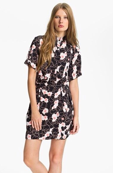 "¡ nuevo   Diane Von Furstenberg ""Pharo& 039; Stretch Seda camiseta entallado Talle 0  tienda de ventas outlet"