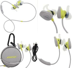 b6051fb56e6 Image is loading Bose-SoundSport-Wireless -Headphones-In-Ear-Bluetooth-Yellow-