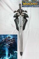 Frostourne Lich King Arthas Sword W/ Wall Mount Wow
