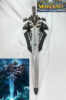 Frostourne Lich King Arthas Sword W/ Wall Mount Wow