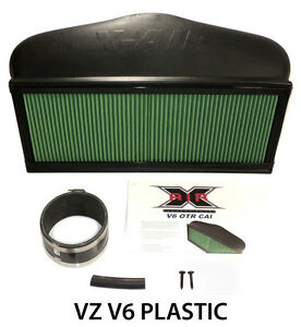 Commodore-VZ-V6-CAPA-X-Air-OTR-Cold-Air-Intake-Induction-Plastic-Alloytec-xair