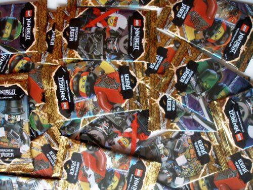 50 Karten Ninja Neu /& Ovp Lego Ninjago Serie 4 Trading Card Game 10 Booster