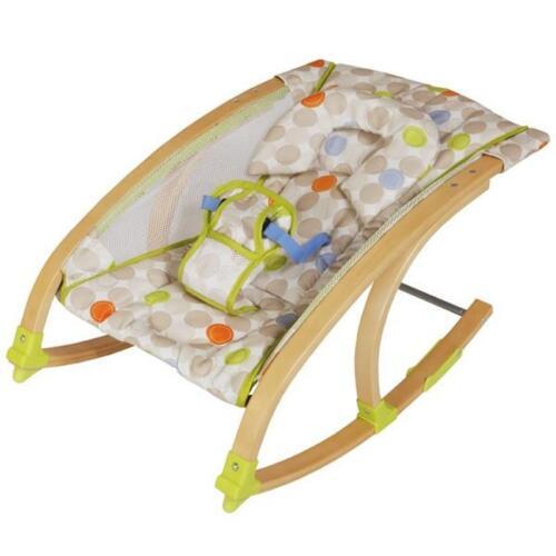 Roba Wippe Babywippe aus gebogenem Holz 75062 V95