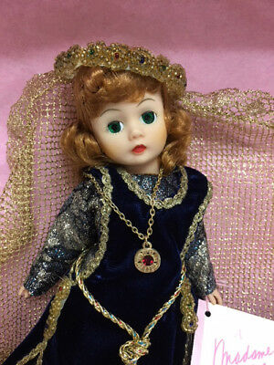 """Objective Mibwt Madame Alexander 10"""" Portrettes Camelot Guenivere Doll 1146 W/ Certificate Crease-Resistance Dolls"""