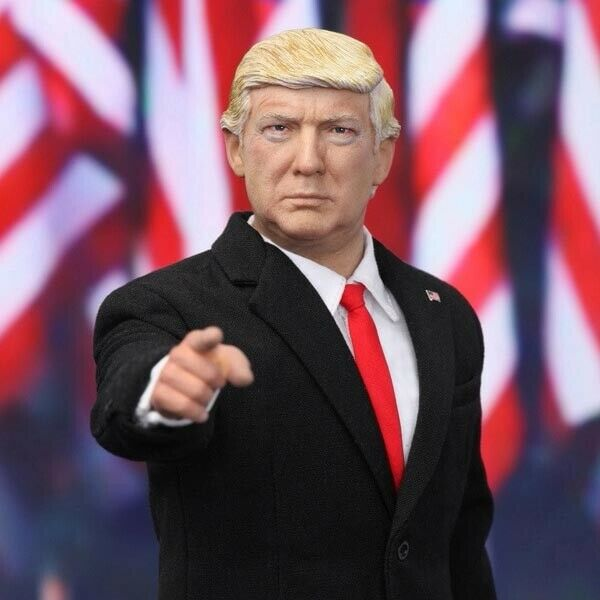 1//6 DID Action Figure U.S 45th President of the United State Donald Trump AP002