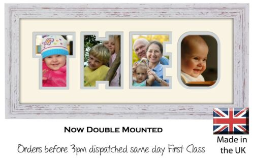 Theo Photo Frame Name Photo Frame Photos in a Word 1321-BB