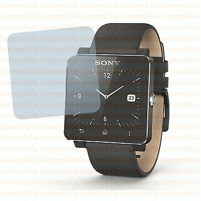 Crystal Clear Screen Protector for Sony SW2 SmartWatch 2 Android Bluetooth Watch