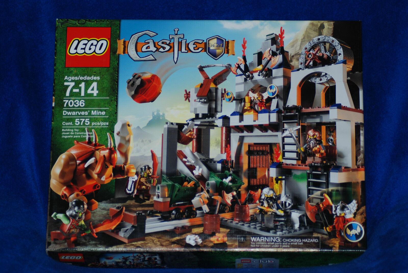 Mine 7036 Nnekhv6919 Lot Dwarves' Misb Lego Bau New Castle c1lKT3FJ