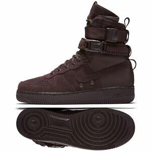 Details zu Nike SF Air Force 1 AF1 Hi 864024 203 Velvet Brown Suede Special Men Boots Sz 10