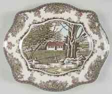 "Johnson Brothers THE FRIENDLY VILLAGE 11 5/8"" Bless This House Platter 8005331"
