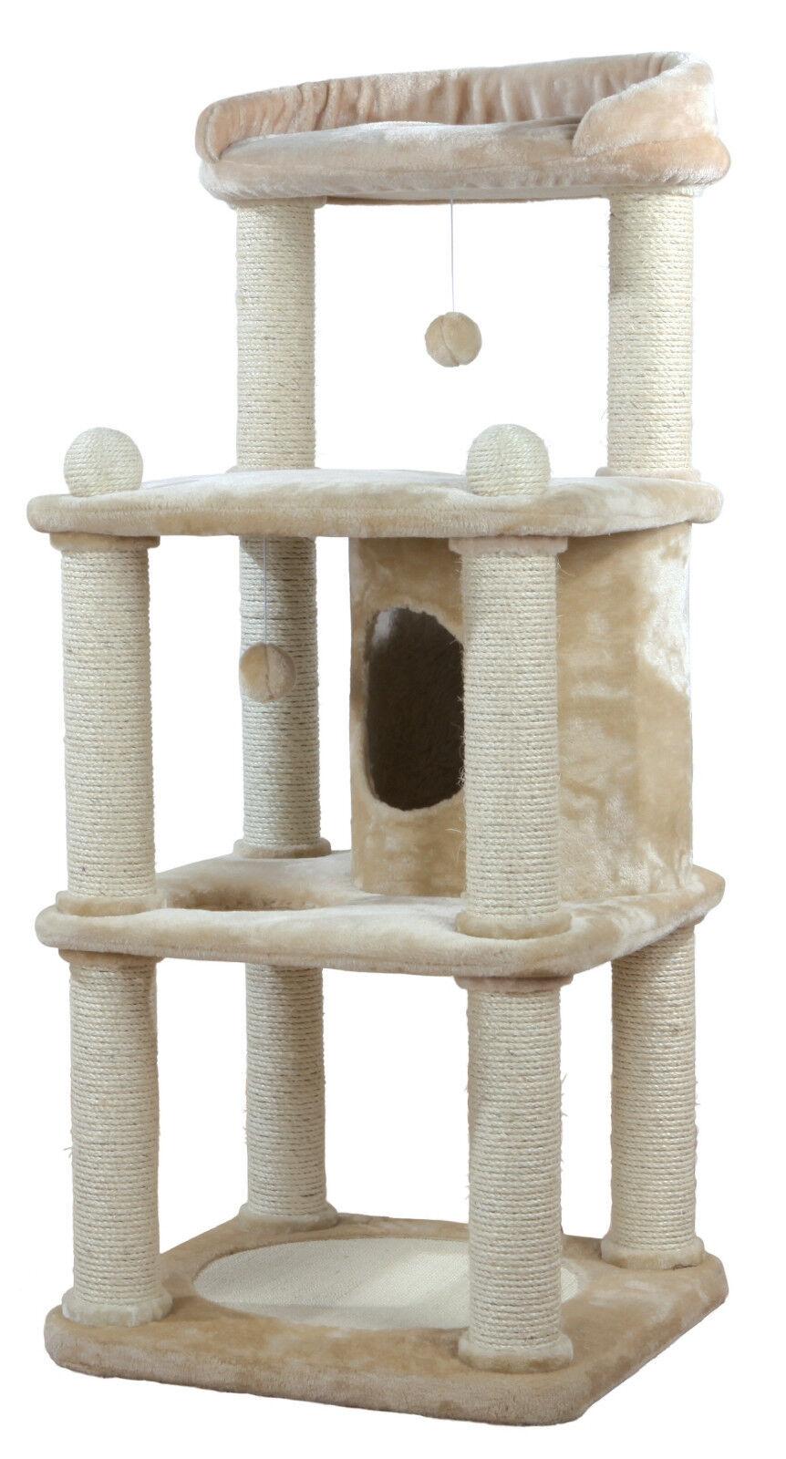 Trixie Kratzbaum Belinda beige für Katzen Art. Art. Art. 47041 groß f4fffc
