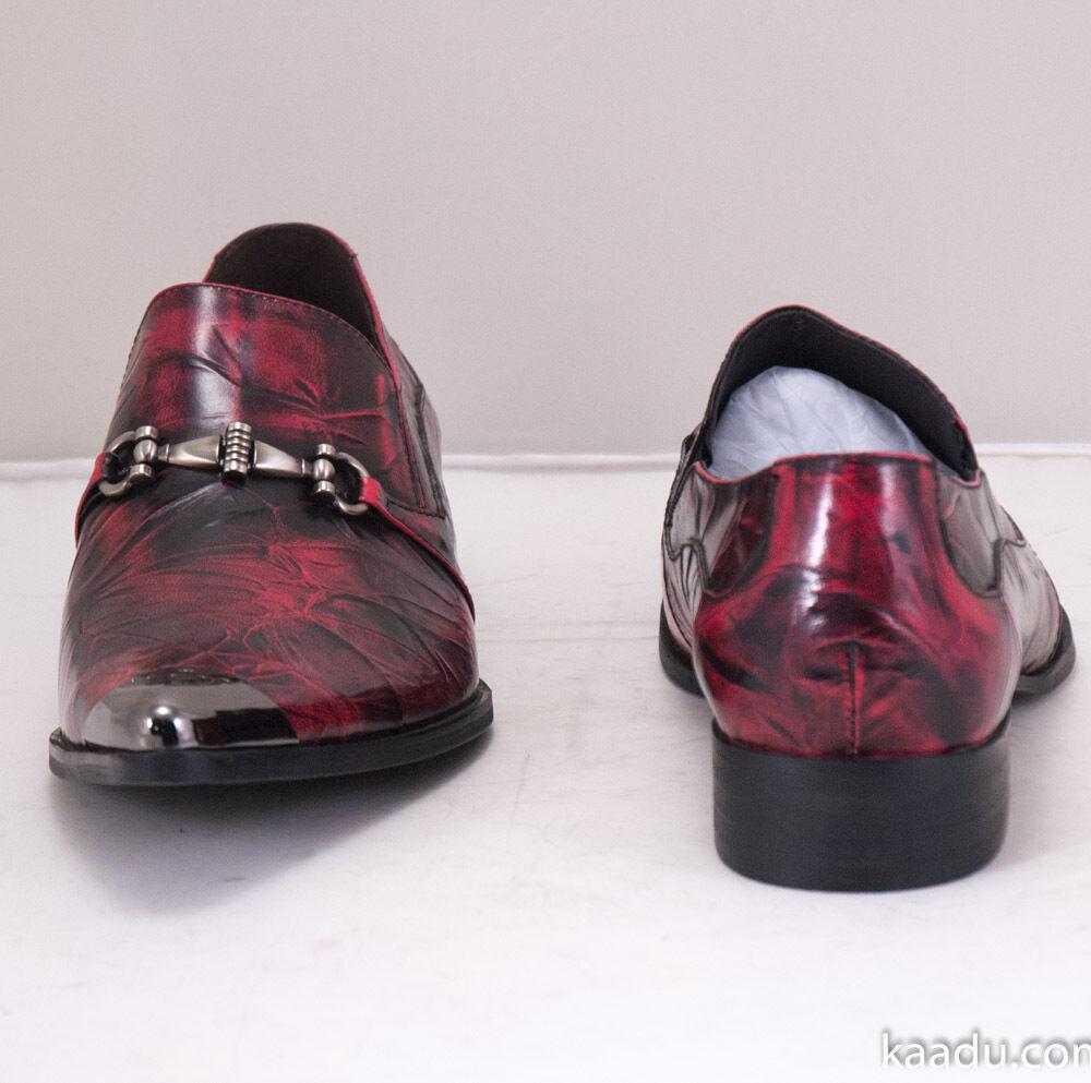 XL161 Clevis Fashion Dress Shoe classiche Loafer Burgundy Scarpe classiche Shoe da uomo c6fcc9