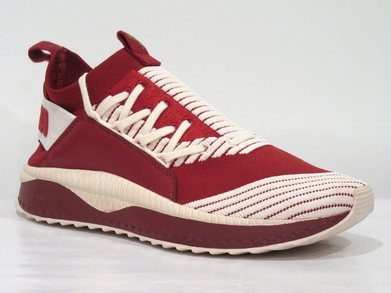PUMA Women's Tsugi Jun Red Dahlia Pearl Ankle-High Walking shoes