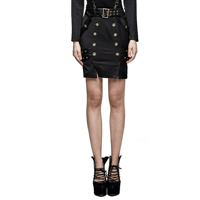 Punk Rave The Secret Order Military Rok Gothic Fetisj Uniform Elegant Q-316