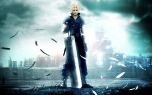 Details About Poster Final Fantasy 7 Vii Advent Children Crisis Core Zack Fair Cloud Strife 6