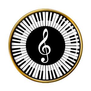 Piano-Broche-Badge