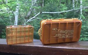 Plano Mini Magnum & Micro Magnum Tackle Boxes - Excellent Condition!