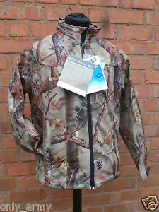New Percussion Waterproof Camo Softshell Hunting Jacket Windproof Shooting Coat