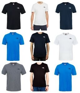 The-North-Face-Mens-T-Shirt-Simple-Dome-TNF-Cotton-Casual-Tee-TShirt-Tops