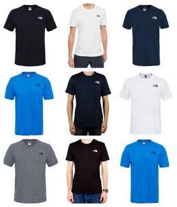 The-North-Face-homme-T-SHIRT-Simple-Dome-Tnf-Decontracte-En-Coton-Tee-T-shirt-Tops