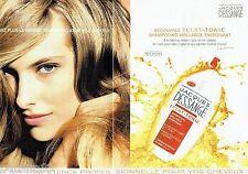 PUBLICITE ADVERTISING 116  2002   Jacques Dessange coiffeur (2 pages) shampooing