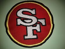 """NFL SAN FRANCISCO 49ERS  PATCH 3.5""""  IRON ON OR SEW ON"""