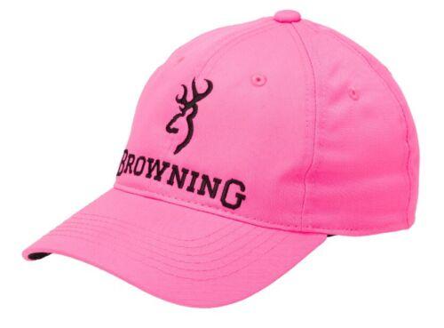 OSFA Pink//Black #308144511 Browning Women/'s Pink Blaze Cap NWT!!