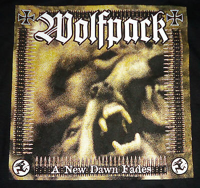 Wolfpack - A New Dawn Fades (2-sided/ color) shirt / New / XL (Black) Crust Punk