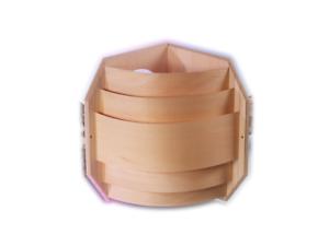 Saunalampe-Ecklampe-Saunaleuchte-Holzblendschirm-Leuchte-Holzschirm