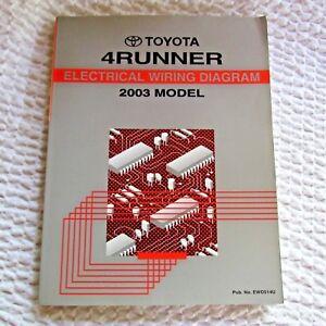 image is loading toyota-4-runner-electrical-wiring-repair-manual-2003-