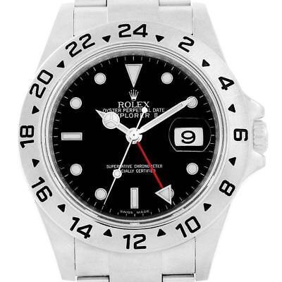 Rolex Explorer II 40 Parachrom Hairspring Steel Mens Watch 16570