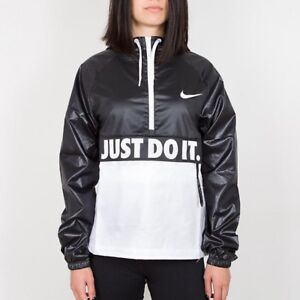 NWT WOMEN S NIKE WINDRUNNER WINDBREAKER JACKET ANORAK JUST DO IT ... 412d91dd1