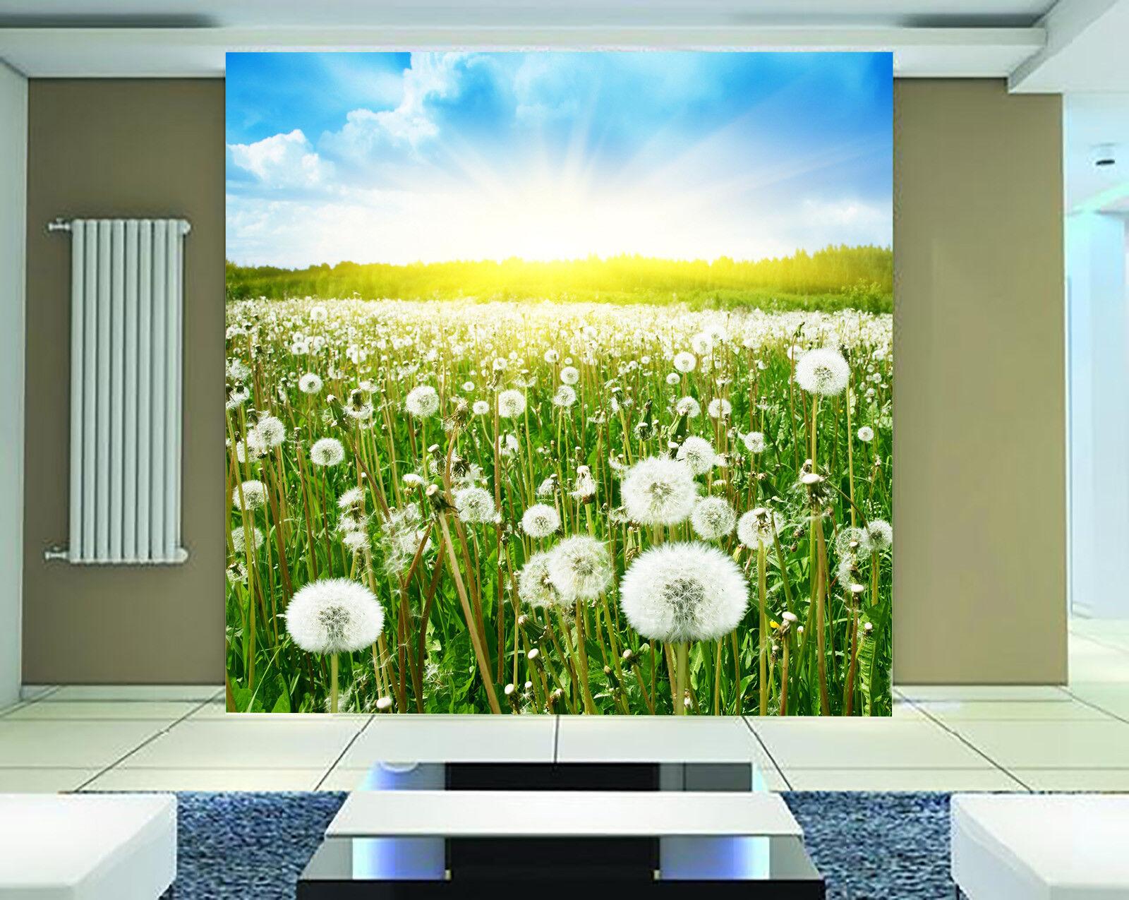 3D Löwenzahn Himmel 8983 Tapete Wandgemälde Tapeten Bild Familie DE Jenny  | Auf Verkauf  | Bestellung willkommen  | Ein Gleichgewicht zwischen Zähigkeit und Härte