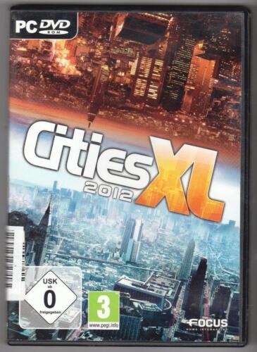 1 von 1 - Cities XL 2012 Städtebau Simulation PC Spiel