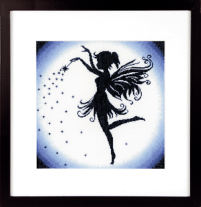 Lanarte Enchanting Fairy Cross Stitch Kit